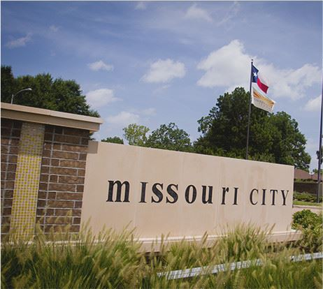 Missouri City Wall sign