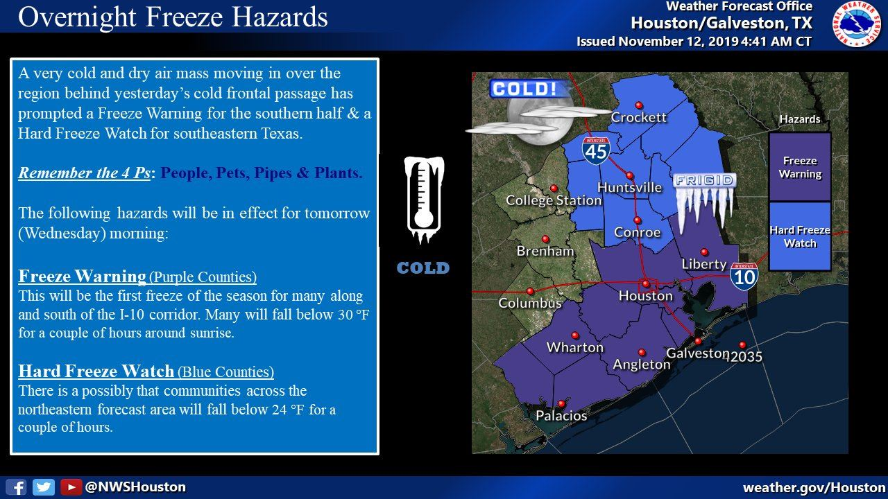 11.12.19 Freeze Warning