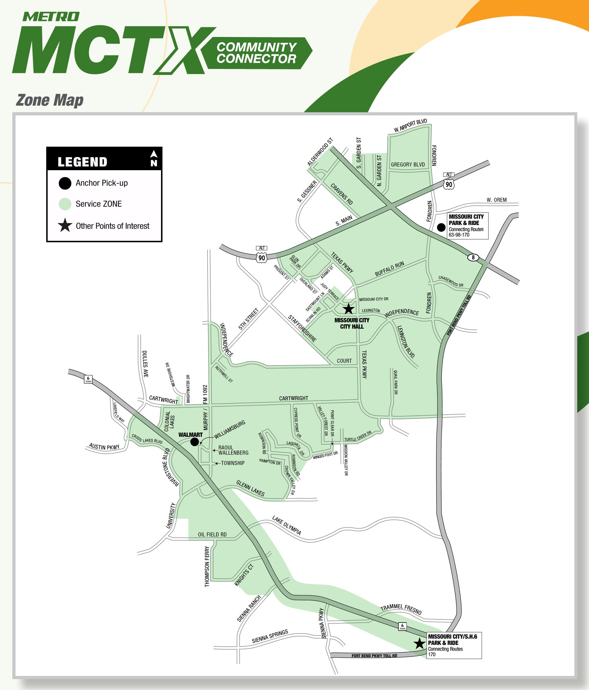MCTX Community Connector New Map