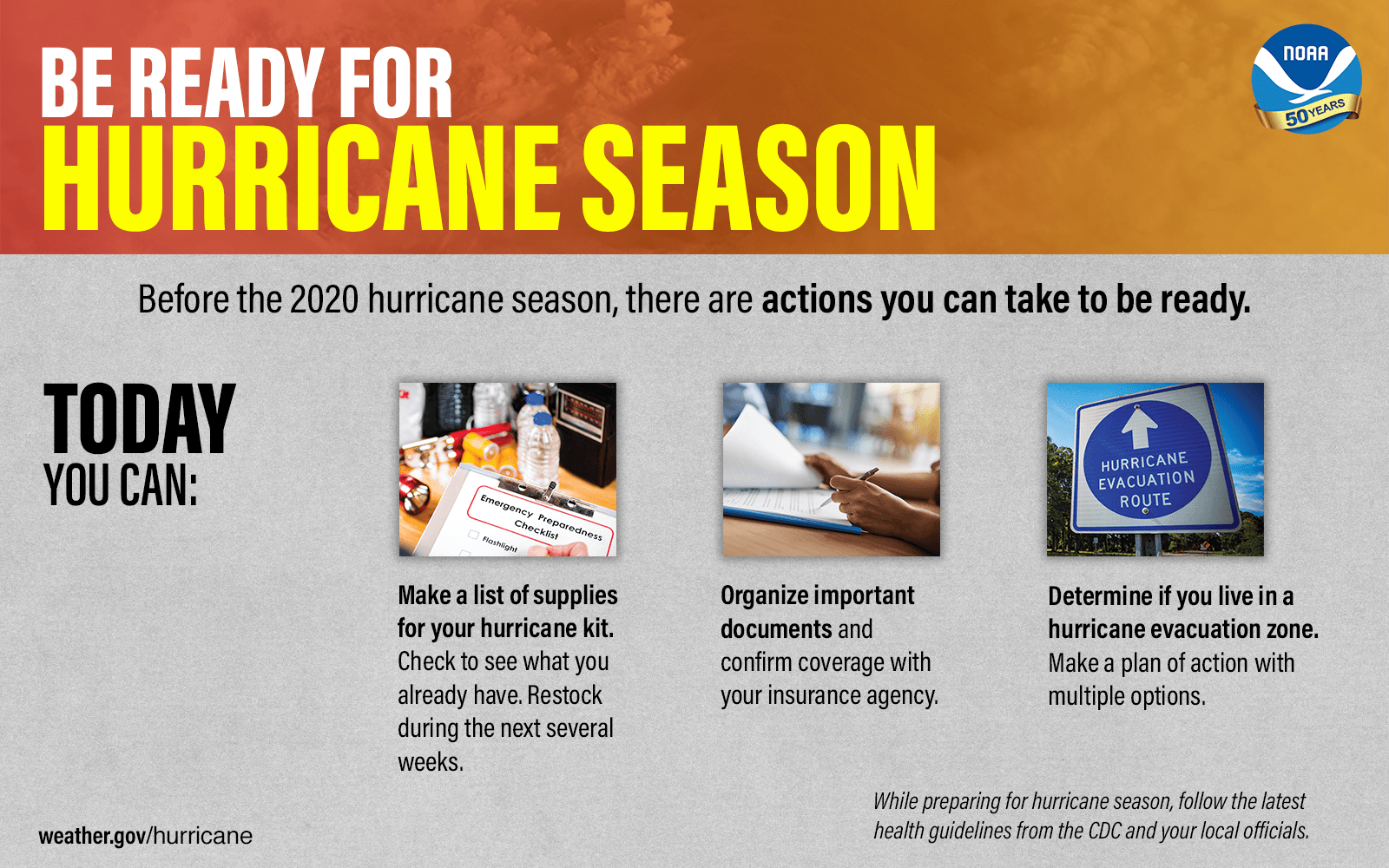 2020 Hurricane Preparedness Tips